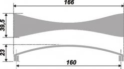 Схема ручки RS255CP.4/160