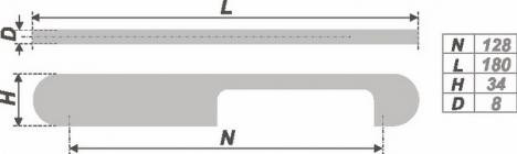 Схема ручки RS256SC.4/128
