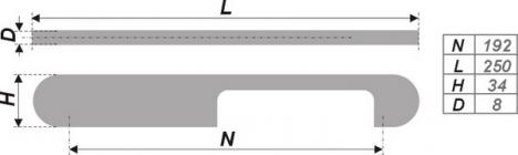 Схема ручки RS256SC.4/192