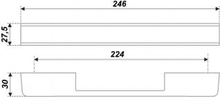 Схема ручки RS266CP/BL.4/160