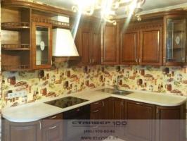 Кухня классика бук с патиной фото.