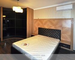 Современная спальня Зебрано