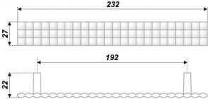 Схема ручки RS272CP.4/192