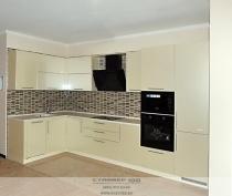 Кухня цвета Жемчужный глянец фото