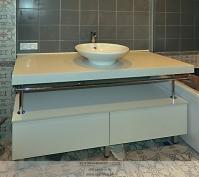 Мебель для ванной белый лак фото