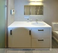 мебель для ванной со встроенной стиральной
