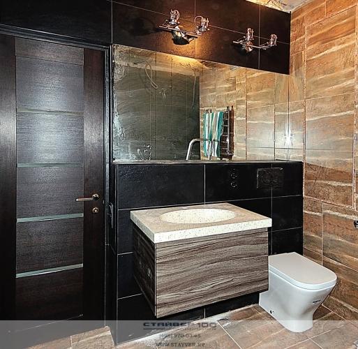 Подвесная тумба для ванной 700 мм. Фото.