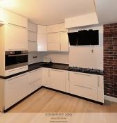 Кухня модерн Техно-жемчуг. Фото.
