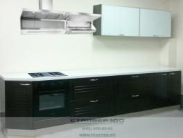Кухня из массива дерева модерн в стиле