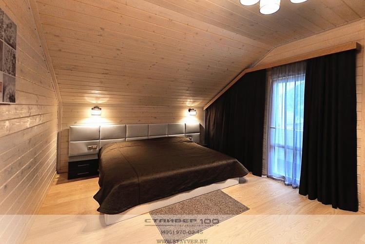 Спальня на мансарду