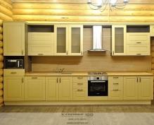 стильная кухня из массива дерева 2015 года