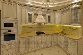 Кухня из массива дуба  Виктория