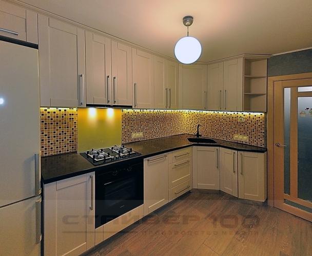 Кухня  Рельеф пастель