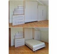 Спальня с кроватью трансформером