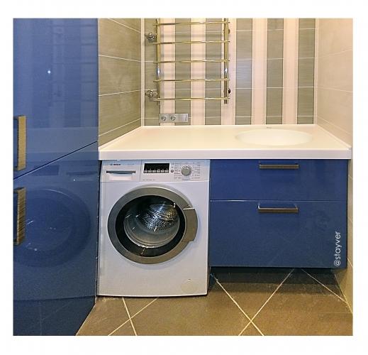 Мебель под стиральную машину  Атлантида