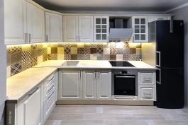 Кухня  Софт кремовый