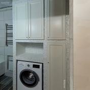 Дверки в ванную для встроенной мебели