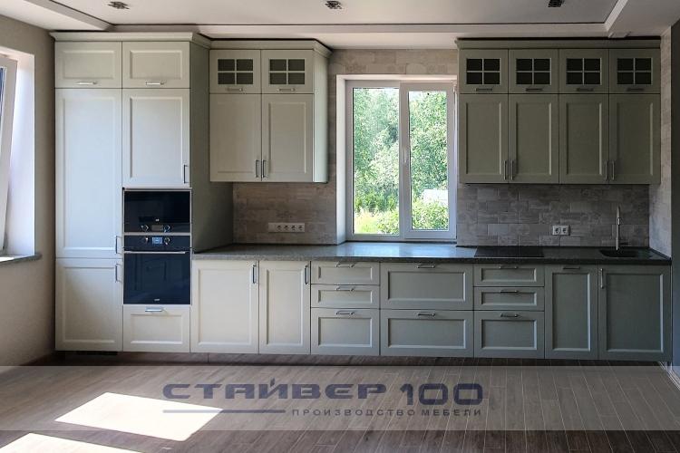 Папирусно-белая кухня RAL 9018