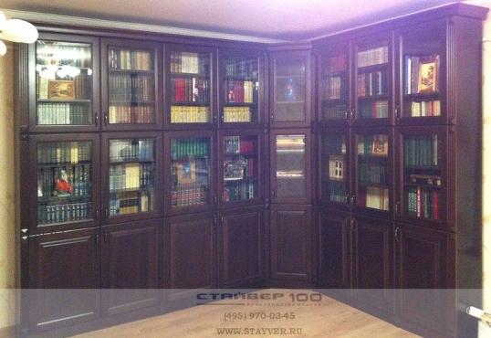 Библиотека из массива дерева.