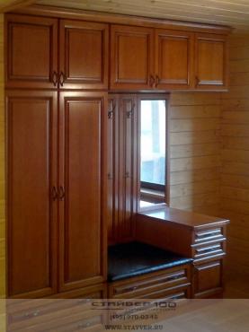 Мебель для прихожей из массива