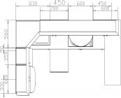 размеры кухни 113