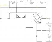 размеры кухни 116