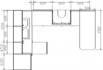 размеры кухни 129