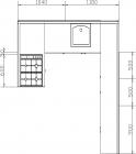 размеры кухни 151