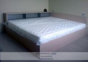 Красивая бежевая спальня