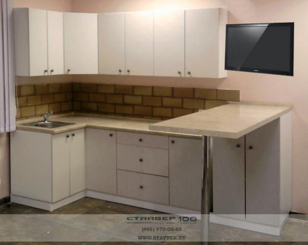 Кухня белого цвета фото