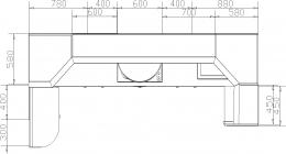 Кухня 184 размеры