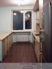 Кухня Лен светлый.Общий вид