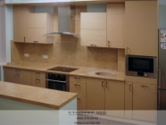 Кухня Лен светлый.вид2