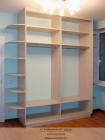 Шкаф двухдверный, в открытом виде