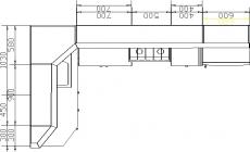 размеры кухни 203