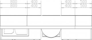 размеры кухни 204