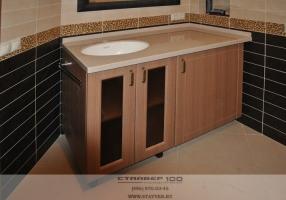 Мебель для ванной на заказ. Фото