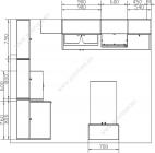 размеры кухни 221