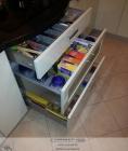Ящики полного выдвижения с организациями для хранения