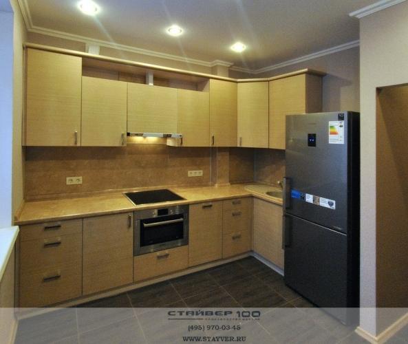 кухня цвета Венге светлый фото
