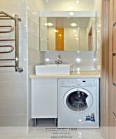 Мебель для ванной 100 см Белый глянец. Фото