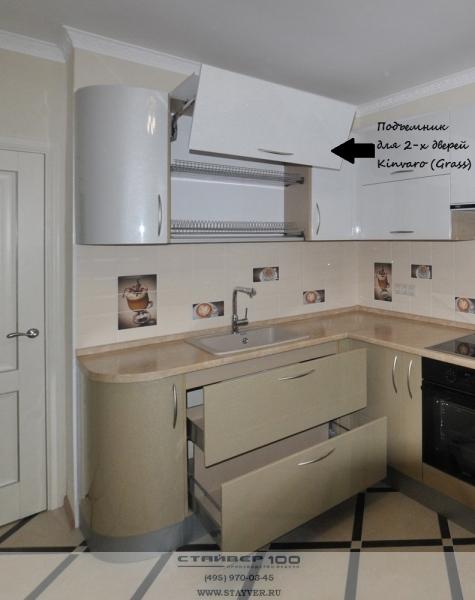 Подъемный механизм для 2-х дверей Kinvaro. Фото