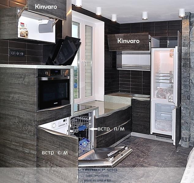 встроенная техника в кухни